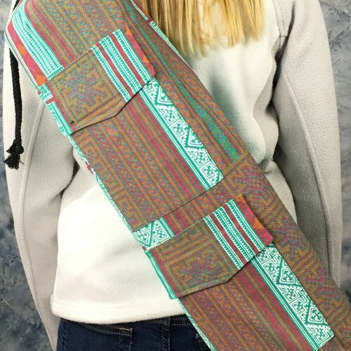 Teal Goddess Yoga Mat Bag (348)