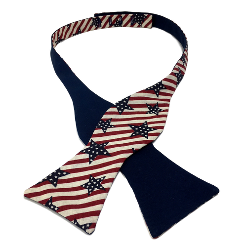 Stars and Stripes Bow Tie - Made for Freedom
