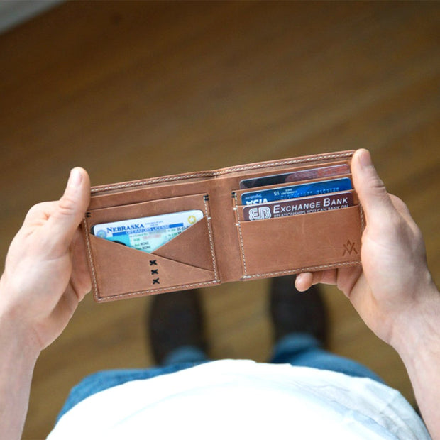 Bi-fold Wallet - Made for Freedom