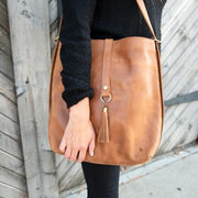 Leather Slingback Bag (414)