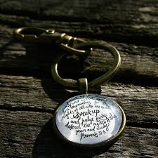 Speak Up Inspirational Key Ring - Made for Freedom