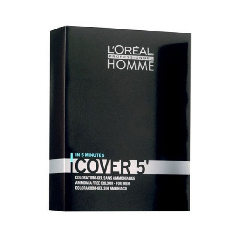 L'Oreal Professionnel Homme Cover 5' Νο4 Kαστανό 3x50ml