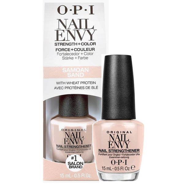 OPI Nail Envy Strength & Color Samoan Sand 15ml