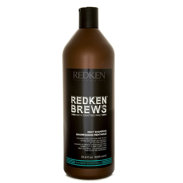 Redken Brews Mint Shampoo 1000ml