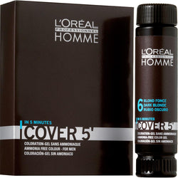 L'Oreal Professionnel Homme Cover 5' Νο6 Ξανθό Σκούρο 3x50ml