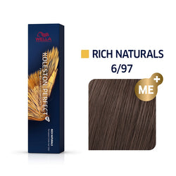 Wella Koleston Perfect ME+ Rich Naturals 6/97 Ξανθό Σκούρο Φυμέ Καφέ 60ml
