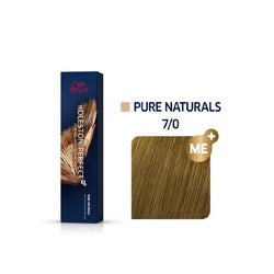 Wella Koleston Perfect ME+ Pure Naturals 7/0 Ξανθό 60ml
