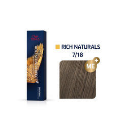 Wella Koleston Perfect ME+ Rich Naturals 7/18 Ξανθό Σαντρέ Περλέ 60ml