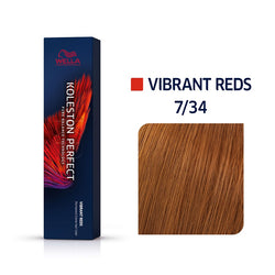 Wella Koleston Perfect ME+ Vibrant Reds 7/34 Ξανθό Χρυσό Κόκκινο 60ml