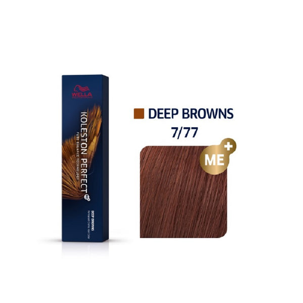 Wella Koleston Perfect ME+ Deep Browns 7/77 Ξανθό Καφέ Έντονο 60ml