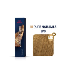 Wella Koleston Perfect ME+ Pure Naturals 8/0 Ξανθό Ανοιχτό 60ml