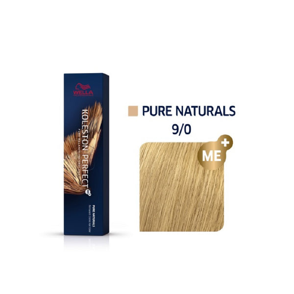 Wella Koleston Perfect ME+  Pure Naturals 9/0 Πολύ Ανοιχτό Ξανθό 60ml