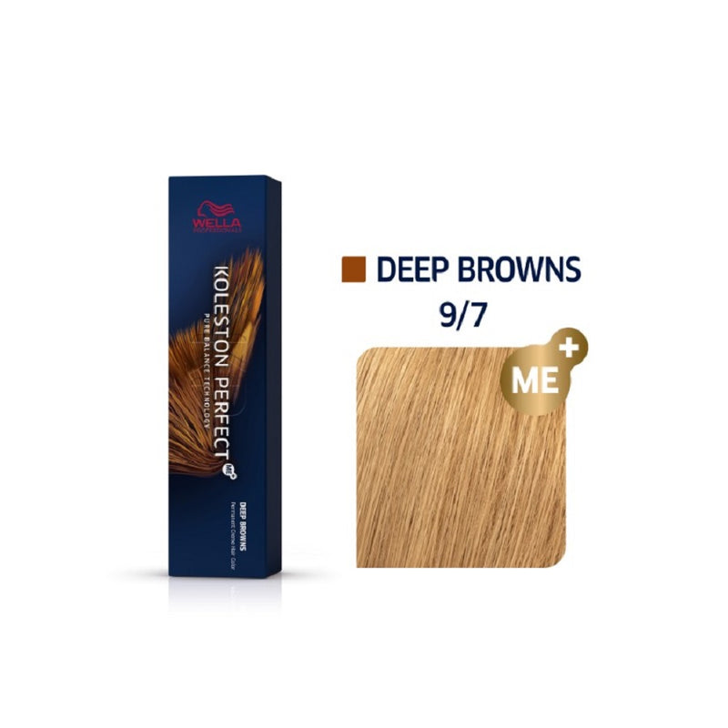 Wella Koleston Perfect ME+ Deep Browns 9/7 Πολύ Ανοιχτό Καφέ 60ml