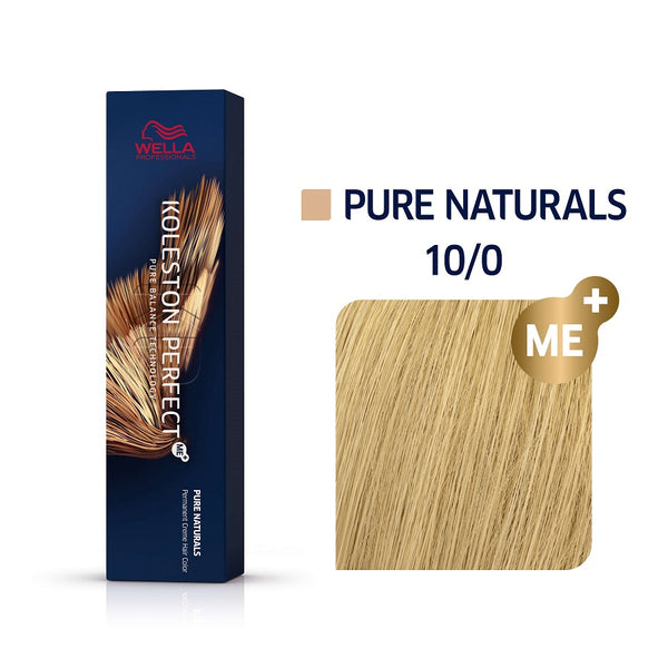 Wella Koleston Perfect ME+ Pure Naturals 10/0 Κατάξανθο Φυσικό 60ml