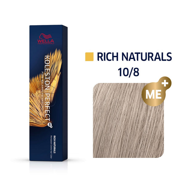 Wella Koleston Perfect ME+ Rich Naturals 10/8 Κατάξανθο Περλέ 60ml