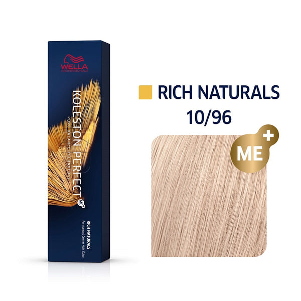 Wella Koleston Perfect ME+ Rich Naturals 10/96 Κατάξανθο Ιριζέ Βιολέ 60ml