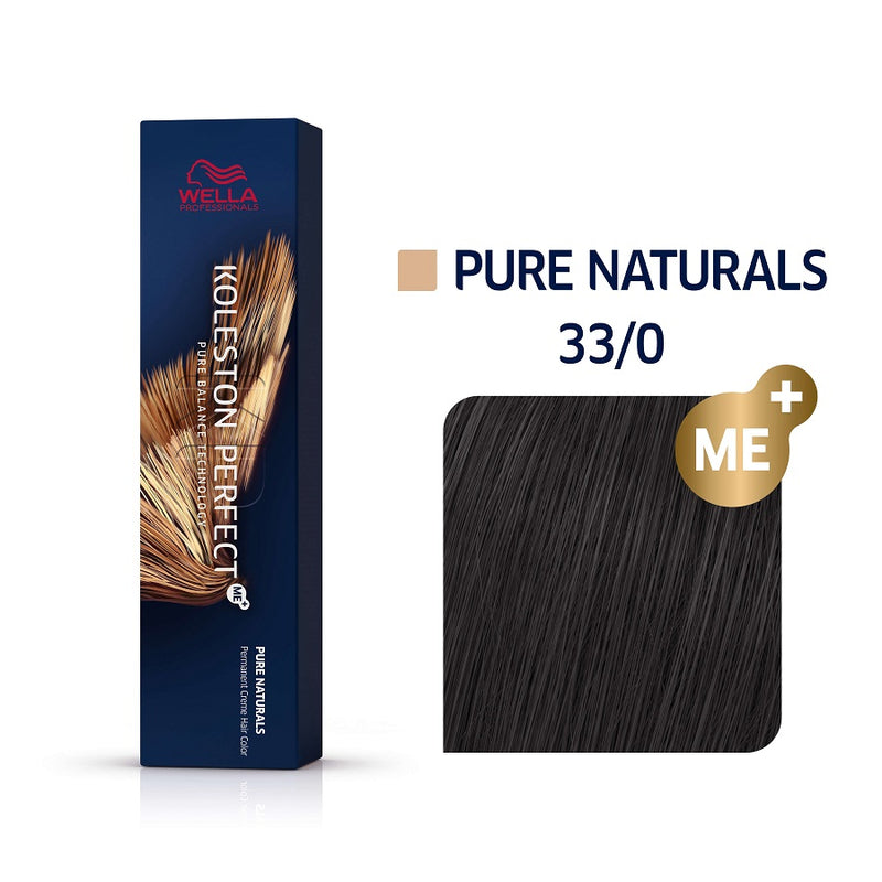 Wella Koleston Perfect ME+ Pure Naturals 33/0 Καστανό Σκούρο 60ml
