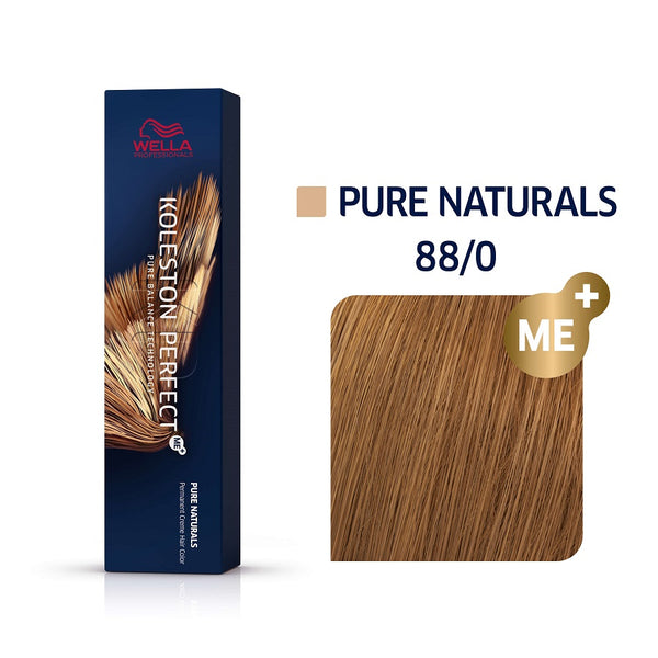 Wella Koleston Perfect ME+ Pure Naturals 88/0 Έντονο Ξανθό Ανοιχτό 60ml