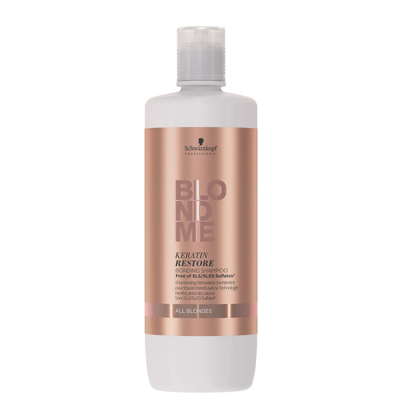 Schwarzkopf Professional BlondMe Keratin Restore Bonding Shampoo All Blondes 1000ml