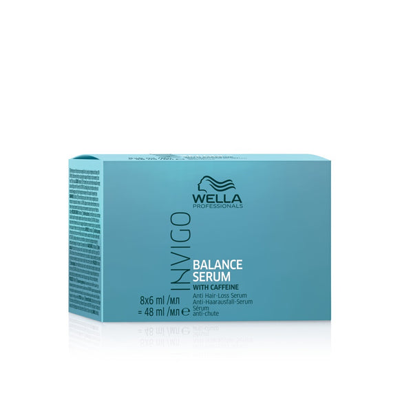 Wella Professionals Invigo Balance Anti Hair Loss Serum 8x6ml