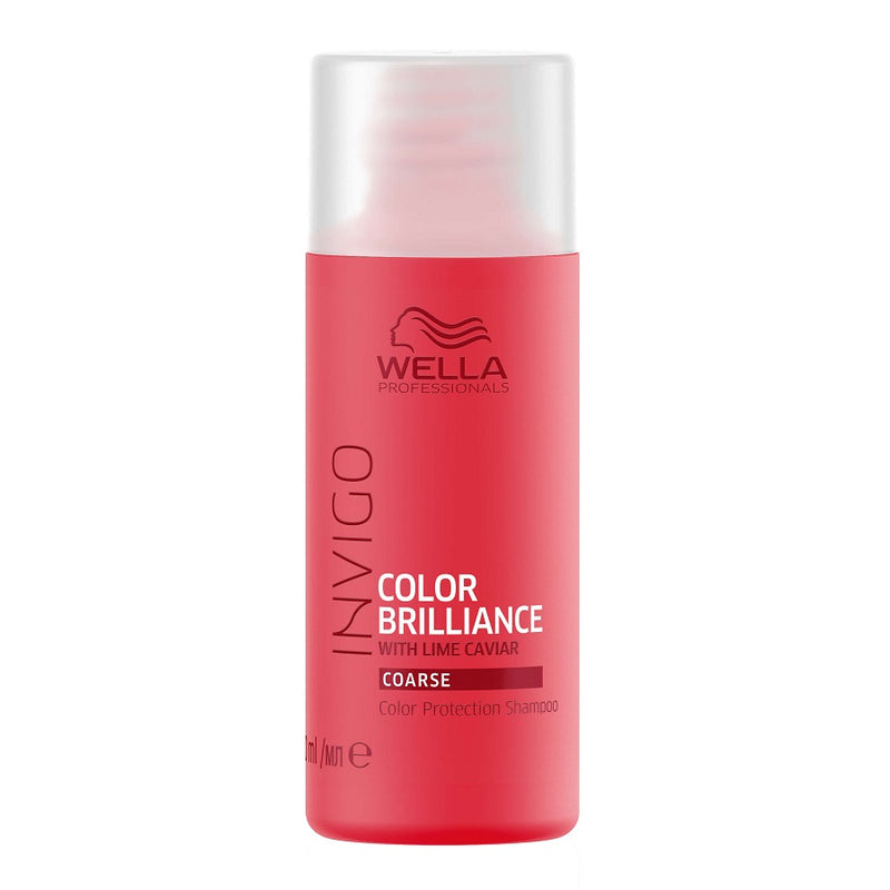 Wella Professional Invigo Color Brilliance Shampoo Coarse Hair 50ml