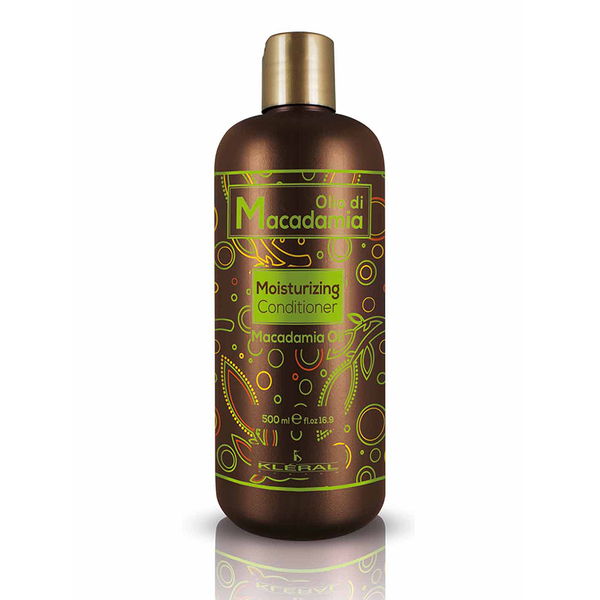 Kleral Macadamia Moisturizing Conditioner για ξηρά μαλλιά 500ml