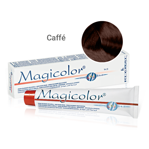Kleral Magicolor Κρέμα Βαφής Μαλλιών Καφέ (Coffee) 100ml