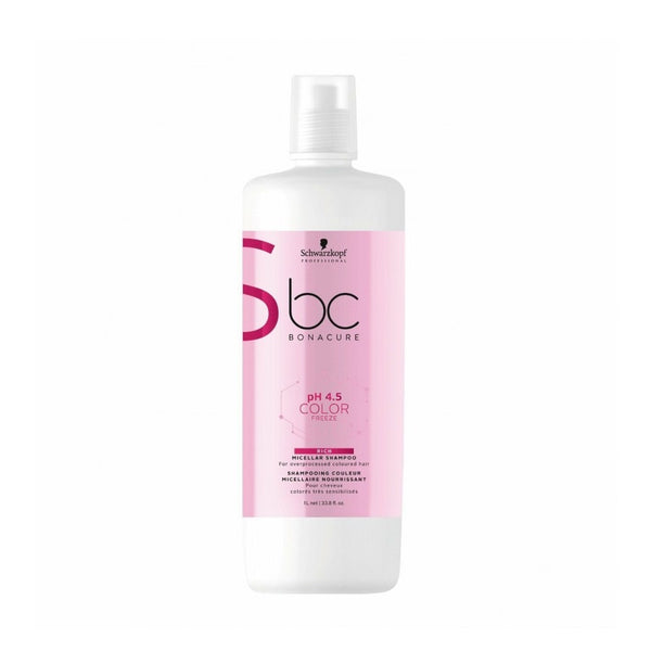 Schwarzkopf Professional BC Bonacure Color Freeze Rich Micellar Shampoo 1000ml