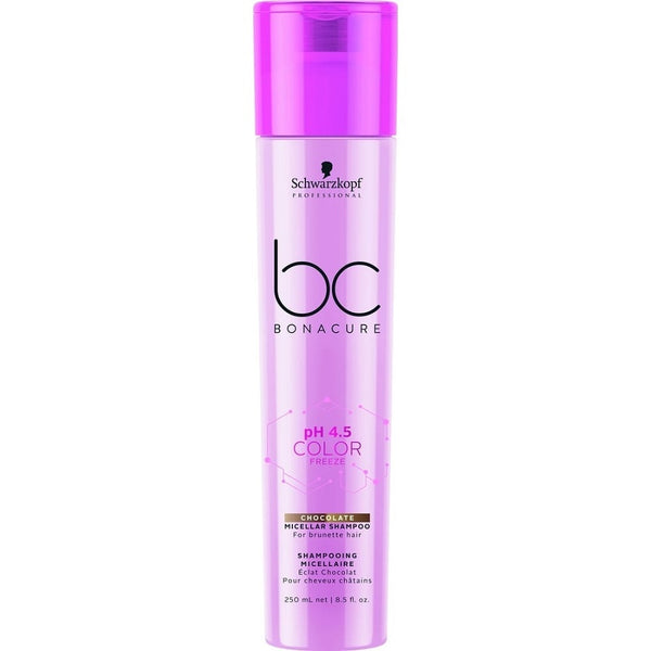 Schwarzkopf Professional Bc Bonacure Color Freeze Chocolate Micellar Shampoo 250ml