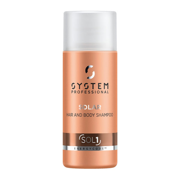 System Professional Solaris Hair & Body Shampoo 50ml (SOL1)