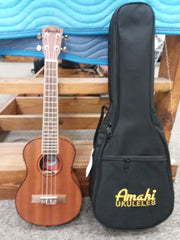 Amahi Tenor Mahogany EQ w/Case