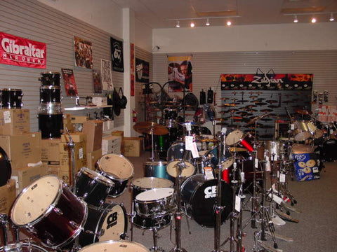 Drum Department (Click for Video Tour)