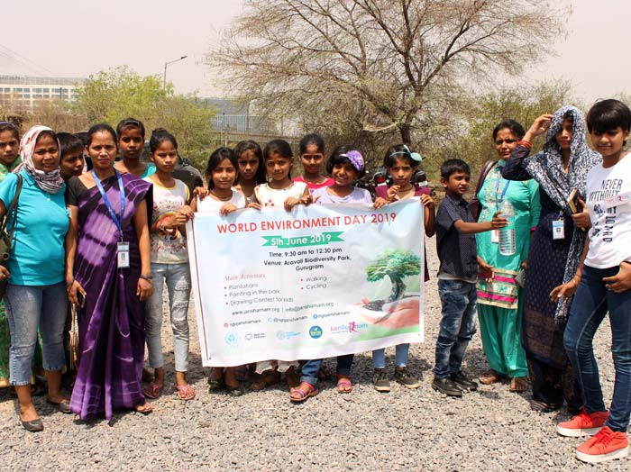 World Environment Day JanSharnam NGO