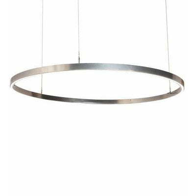 2nd Ave Lighting Pendants Extreme Chrome / Statuario Idalight / Acrylic Anillo Pendant By 2nd Ave Lighting 195632