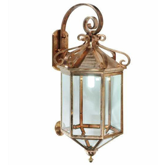 2nd Ave Lighting One Light Silicon Bronze / Clear Glass / Glass Fabric Idalight Anza One Light By 2nd Ave Lighting 122800