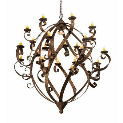 2nd Ave Lighting Chandeliers Rococco Caliope Chandelier By 2nd Ave Lighting 212146