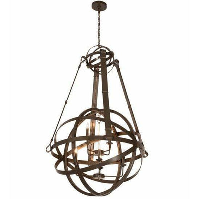 2nd Ave Lighting Chandeliers Timeless Bronze Gimbal Chandelier By 2nd Ave Lighting 196041