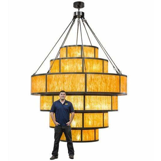 2nd Ave Lighting Pendants Oil Rubbed Bronze / Ambra Siena Idalight / Glass Fabric Idalight Jayne Pendant By 2nd Ave Lighting 155956