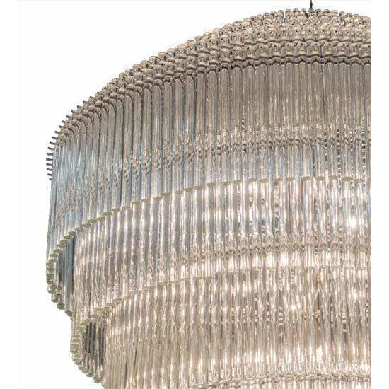 2nd Ave Lighting Chandeliers Sparkle Silver / Polished Glass / Glass Fabric Idalight Marquee Chandelier By 2nd Ave Lighting 177524