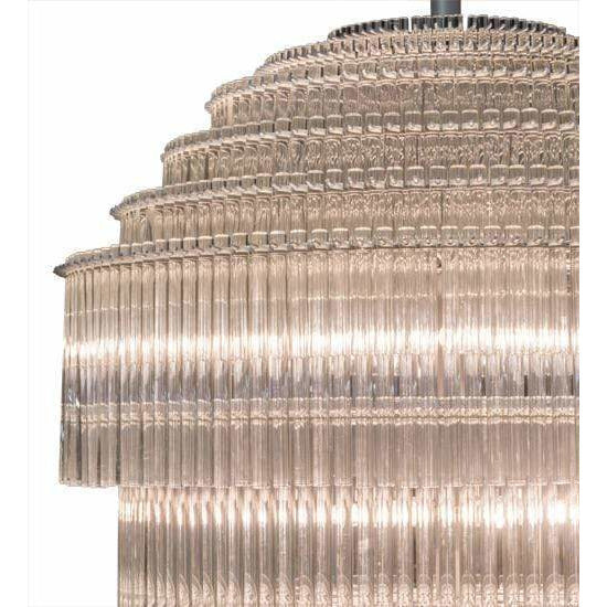 2nd Ave Lighting Pendants Sparkle Silver / Glass Fabric Idalight Marquee Pendant By 2nd Ave Lighting 177368