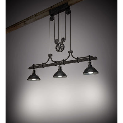 2nd Ave Lighting Pendants .Smoke And Natural Iron Melrose Barlett Pendant By 2nd Ave Lighting 203455