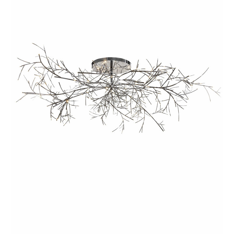 2nd Ave Lighting Chandeliers Polished Stainless Steel Thicket Chandelier By 2nd Ave Lighting 221927