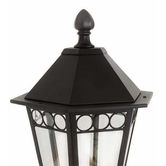 2nd Ave Lighting One Light Textured Black / Clear Glass Yorkshire One Light By 2nd Ave Lighting 205328