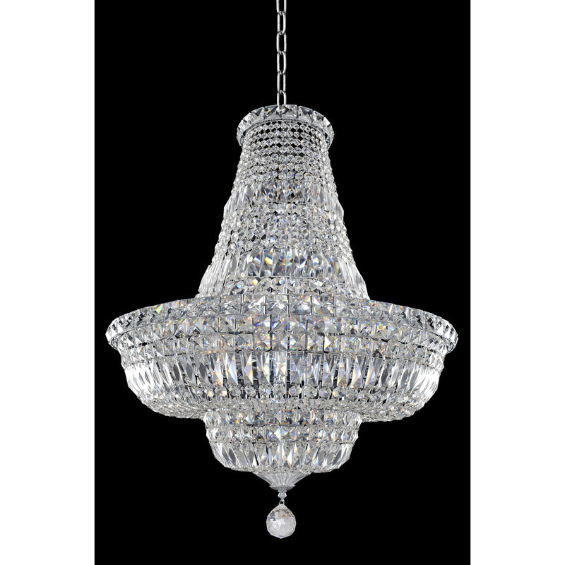 Allegri by Kalco Lighting Pendants Chrome / Firenze Clear Betti 25 Inch Pendant From Allegri by Kalco Lighting 020270