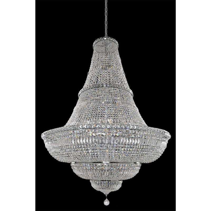 Allegri by Kalco Lighting Pendants Chrome / Firenze Clear Betti 48 Inch Pendant From Allegri by Kalco Lighting 020272
