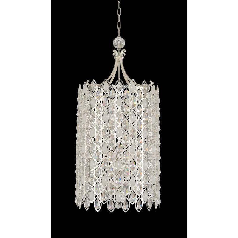 Allegri by Kalco Lighting Pendants Two Tone Silver / Firenze Clear Prive Large Foyer From Allegri by Kalco Lighting 028752