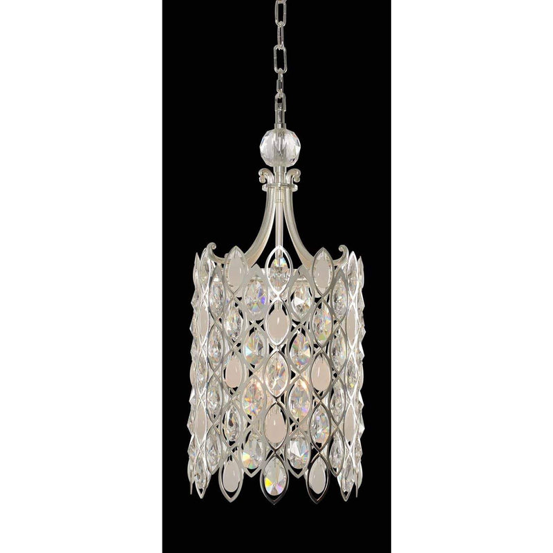 Allegri by Kalco Lighting Pendants Two Tone Silver / Firenze Clear Prive Small Foyer From Allegri by Kalco Lighting 028751