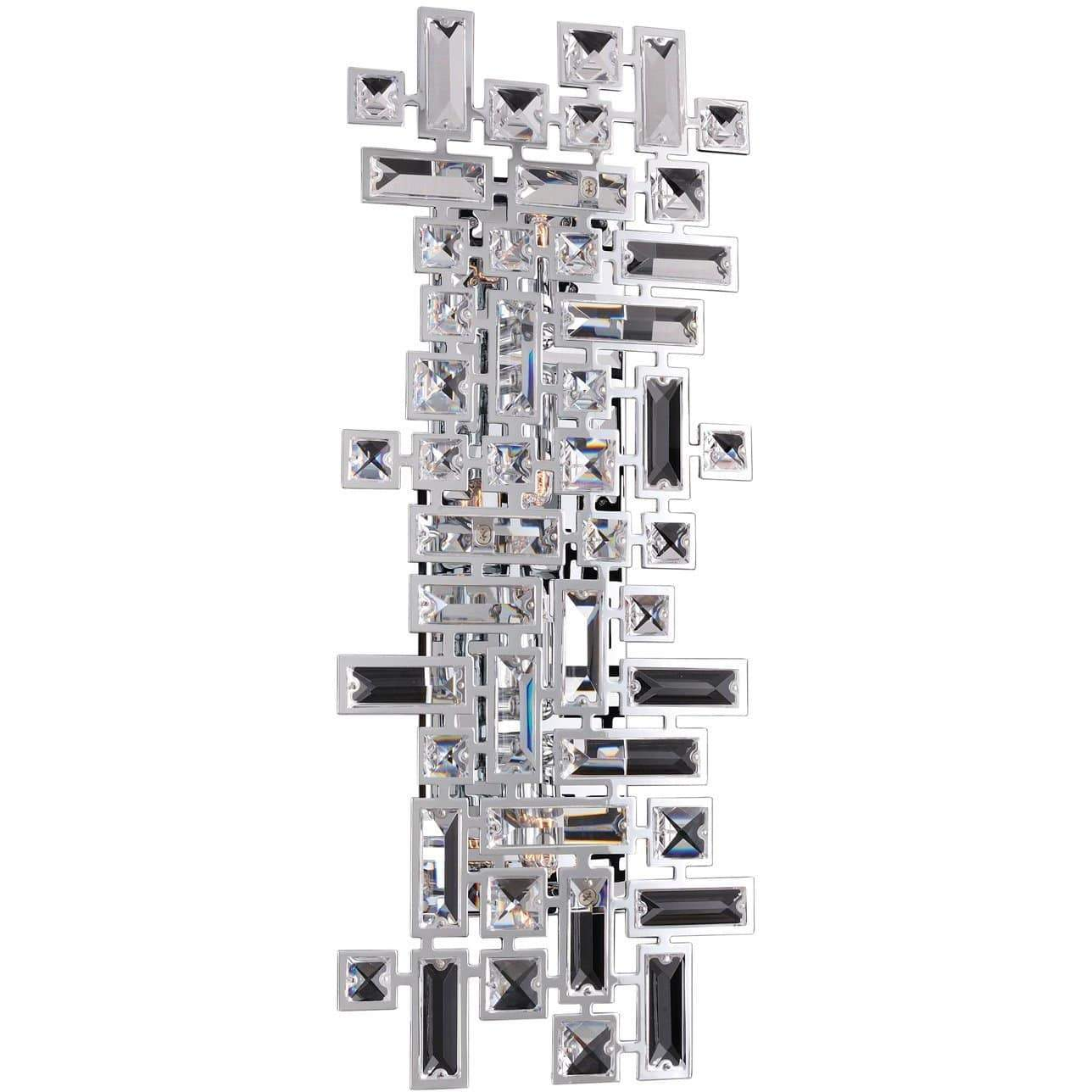 Allegri by Kalco Lighting Wall Sconces Chrome / Firenze Clear Vermeer 4 Light Wall Bracket From Allegri by Kalco Lighting 11192