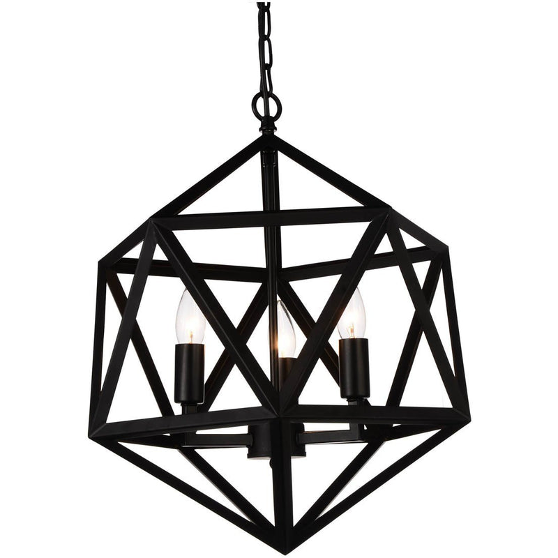 CWI Lighting Pendants Black Amazon 4 Light Up Pendant with Black finish by CWI Lighting 9641P20-4-101