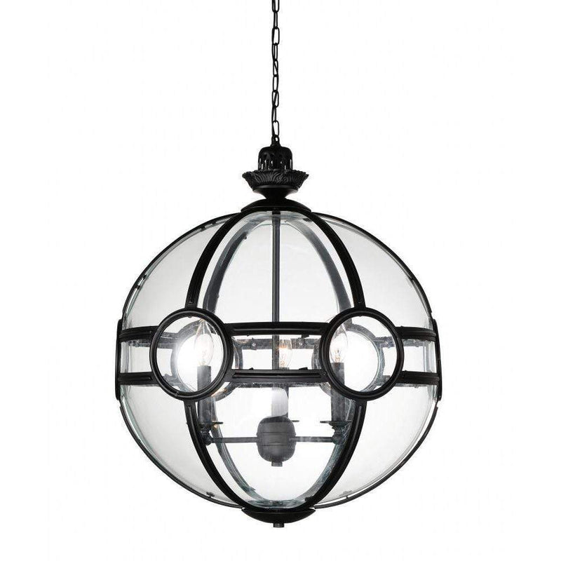 CWI Lighting Pendants Black Beas 3 Light Pendant with Black finish by CWI Lighting 9696P20-3-101
